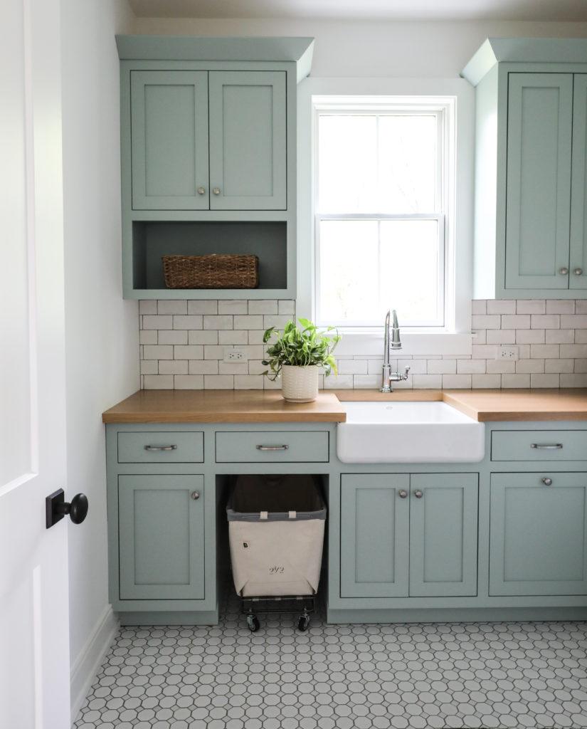 Blue Green Kitchen Cabinets: Farrow & Ball Teresa Green
